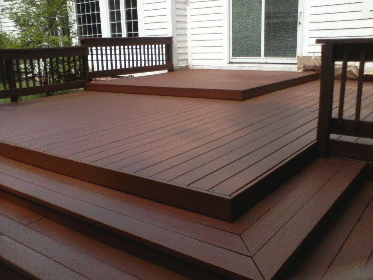 Professional painting gallery of work namho for Painted deck pictures